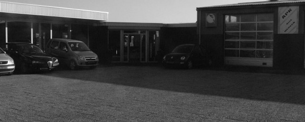 Bovag autobedrijf van Benthum Boxmeer ingang