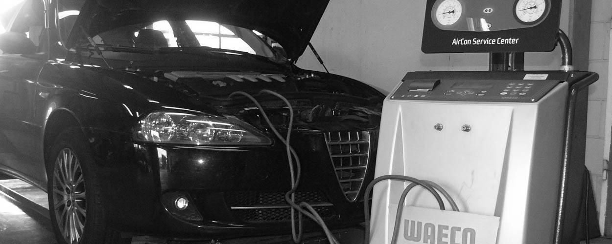 Airco onderhoud en vullen bij Bovag autobedrijf van Benthum in Boxmeer